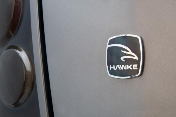 Land Rover Discovery 3 'HAWKE' Vitreous Enamelled Badge